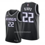 Camiseta Sacramento Kings Cody Demps #22 Statement Negro
