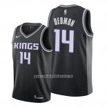 Camiseta Sacramento Kings Dewayne Dedmon #14 Statement Negro