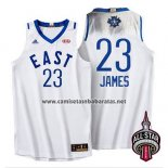 Camiseta All Star 2016 Lebron James #23 Blanco