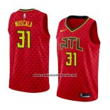 Camiseta Atlanta Hawks Mike Muscala #31 Statement 2018 Rojo