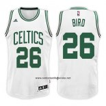 Camiseta Boston Celtics Jabari Bird #26 Swingman Home 2017-18 Blanco