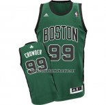 Camiseta Boston Celtics Jae Crowder #99 Verde Negro