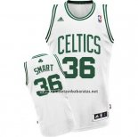 Camiseta Boston Celtics Marcus Smart #36 Blanco