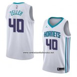 Camiseta Charlotte Hornets Cody Zeller #40 Association 2018 Blanco