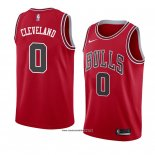 Camiseta Chicago Bulls Antonius Cleveland #0 Icon 2018 Rojo