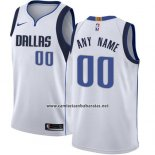 Camiseta Dallas Mavericks Nike Personalizada 17-18 Blanco