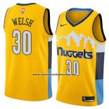 Camiseta Denver Nuggets Thomas Welsh #30 Statement 2018 Amarillo