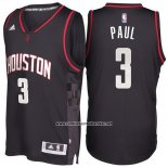 Camiseta Houston Rockets Chris Paul #3 Negro
