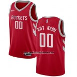 Camiseta Houston Rockets Nike Personalizada 17-18 Rojo