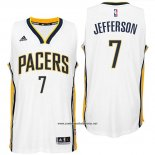 Camiseta Indiana Pacers Al Jefferson #7 Blanco