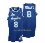 Camiseta Los Angeles Lakers Kobe Bryant #8 Retro Azul