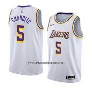 Camiseta Los Angeles Lakers Tyson Chandler #5 Association 2018 Blanco
