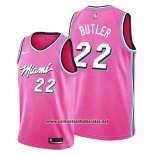 Camiseta Miami Heat Jimmy Butler #22 Earned 2019 Rosa