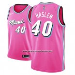 Camiseta Miami Heat Udonis Haslem #40 Earned 2018-19 Rosa