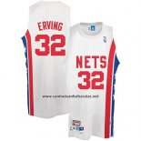 Camiseta New York Knicks Julius Erving #32 Retro Blanco