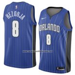 Camiseta Orlando Magic Mario Hezonja #8 Icon 2018 Azul