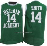 Camiseta Pelicula Bel-Air Academy Smith #14 Verde