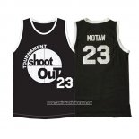 Camiseta Pelicula Shoot Out Motaw #23 Negro