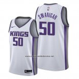Camiseta Sacramento Kings Caleb Swanigan #50 Association Blanco
