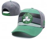 Gorra Boston Celtics Gris Negro Verde