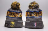 Gorro Golden State Warriors Amarillo Gris