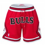 Pantalone Chicago Bulls Just Don Rojo