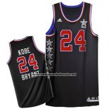 Camiseta All Star 2015 Kobe Bryant #24 Negro
