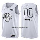Camiseta All Star 2018 New York Knicks Nike Personalizada Blanco