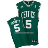 Camiseta Boston Celtics Kevin Garnett #5 Verde
