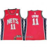 Camiseta Brooklyn Nets Kyrie Irving #11 Retro Rojo