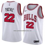 Camiseta Chicago Bulls Cameron Payne #22 Association 2018 Blanco