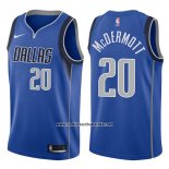 Camiseta Dallas Mavericks Doug Mcdermott #20 Icon 2017-18 Azul