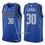 Camiseta Dallas Mavericks Seth Curry #30 Icon 2017-18 Azul