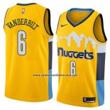 Camiseta Denver Nuggets Jarred Vanderbilt #6 Statement 2018 Amarillo