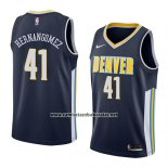 Camiseta Denver Nuggets Juan Hernangomez #41 Icon 2018 Azul