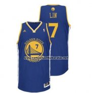 Camiseta Golden State Warriors Jeremy Lin #7 Azul