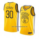 Camiseta Golden State Warriors Stephen Curry #30 Earned 2018-19 Amarillo