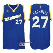 Camiseta Golden State Warriors Zaza Pachulia #27 Azul