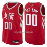 Camiseta Houston Rockets Nike Personalizada 2017-18 Blanco