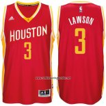 Camiseta Houston Rockets Ty Lawson #3 Rojo Amarillo