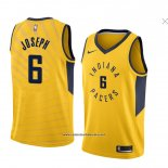 Camiseta Indiana Pacers Cory Joseph #6 Statement 2018 Amarillo