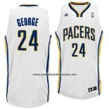 Camiseta Indiana Pacers Paul George #24 Blanco