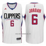 Camiseta Los Angeles Clippers DeAndre Jordan #6 Blanco