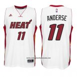 Camiseta Miami Heat Chris Anderse #11 Blanco