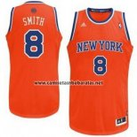 Camiseta New York Knicks JR Smith #8 Naranja