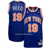 Camiseta New York Knicks Willis Reed #19 Retro Azul