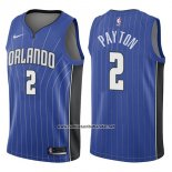 Camiseta Orlando Magic Elfrid Payton #2 Icon 2017-18 Azul
