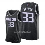 Camiseta Sacramento Kings Corey Brewer #33 Statement Negro