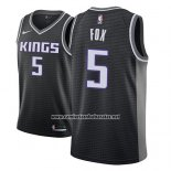Camiseta Sacramento Kings De'aaron Fox #5 Statement 2018-19 Negro