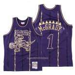 Camiseta Toronto Raptors Tracy McGrady #1 2020 Chinese New Year Throwback Violeta